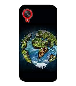 printtech Nature Planet Back Case Cover for LG Google Nexus 5::LG Google Nexus 5 (2014 1st Gen)