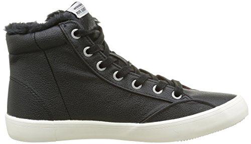 Pepe Jeans Clinton, Baskets Hautes Femme Noir (999Black)