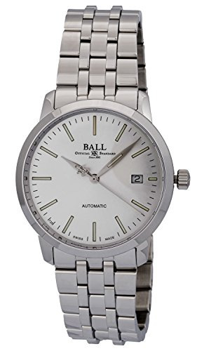 BALL Legend Stainless Steel Silver Dial Automatic Men's Watch NM2030D-SJ-SL