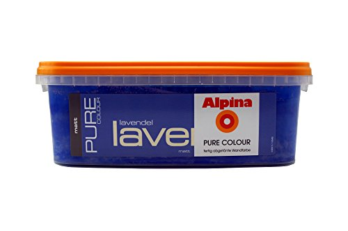 ALPINA Pure Colour, 2,5 L. Wandfarbe, Matt, Lavendel, Flieder