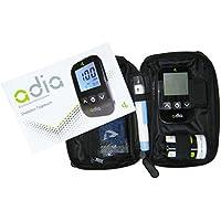 adia Blutzuckermessgerät [mg/dl] mit 10 Teststreifen - für Diabetiker zur Messung des Blutzuckers preisvergleich bei billige-tabletten.eu