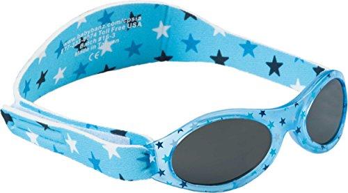 Dooky Baby Banz Baby-Sonnenbrille Blue Star blau