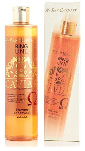 IV SAN BERNARD – Shampoo Caviar Fortificante Senza Sls – Formato Da 300 ml.