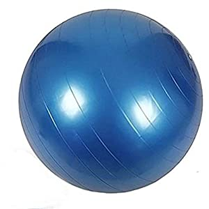PUER PVC Yoga Ball 45/65/75/85/95 cm Gymnastik Fitness Pilates Balance Yoga Ball Gym Workouts- Anti Burst – Quick Pump enthalten