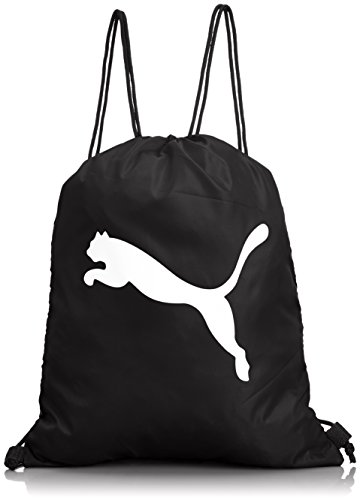 PUMA Turnbeutel Pro Training Gym Sack, black/white, 38 x 48 x 0.5 cm, 1.0 liter, 072942 01