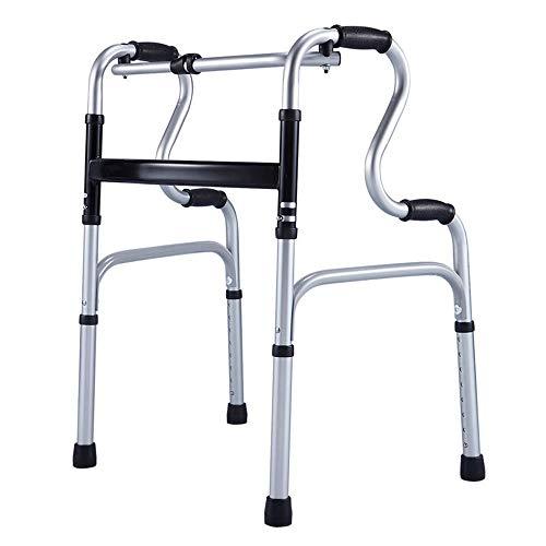 FFLSDR Plegable Walker Ancianos Walker Aluminio De