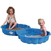 Paradiso Toys T00752 - Arena o agua cáscara de 2 piezas 86 x 80 x 20 cm azul