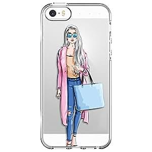 MTT Designer Pattern Printed Soft Back Cover case for Apple iPhone 5 5SE 5S (Design48)