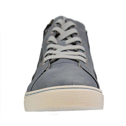 Mustang Damen 1246-502 High-Top Blau