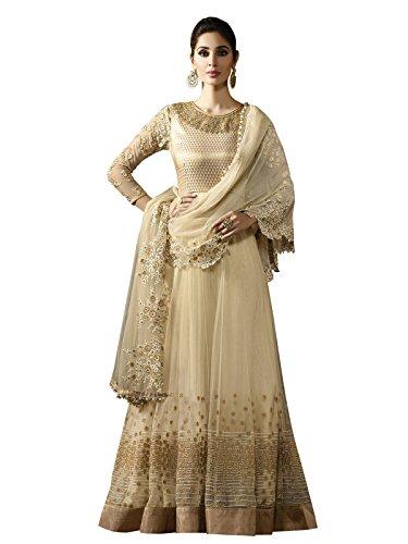 Vasu Saree Fascinating Cream Colour Lehenga Style Suit