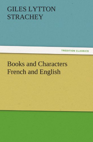 Books and Characters French and English (TREDITION CLASSICS)