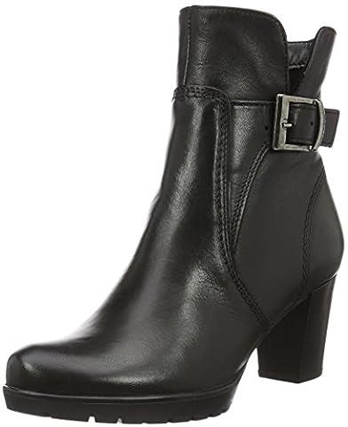 Tamaris Damen 25394 Kurzschaft Stiefel, Schwarz (Black 001), 39 EU