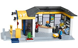 playmobil 4400 les commer ants bureau de poste jeux et jouets. Black Bedroom Furniture Sets. Home Design Ideas