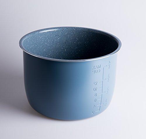 Cubeta Cerámica y Piedra para Olla Programable 6 litros. GM, Cocimix, Newcook, Erika, etc