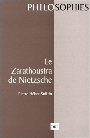 Le Zarathoustra de Nietzsche