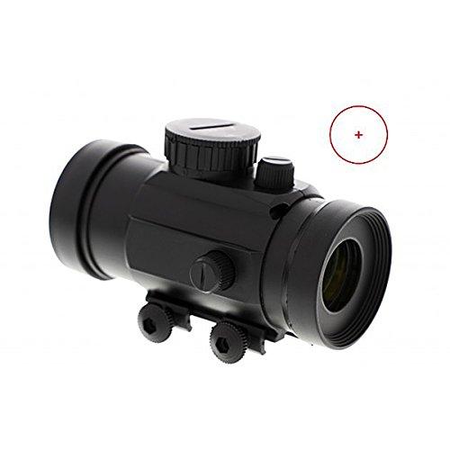 Leuchtpunktvisier für Softairwaffen, Armbrüste, Luftdruckwaffen, Kleinkaliber uvm. Red Dot Rotpunkt - Leuchtpunkt Visier mit 22 mm Weaver Schiene - Direktversand aus Deutschland von ETU24®