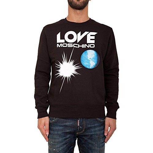 Love Moschino tuta uomo completo maglia pantalone fashion originale nero EU M (UK 12) M 6 480 01 M 3685 C7