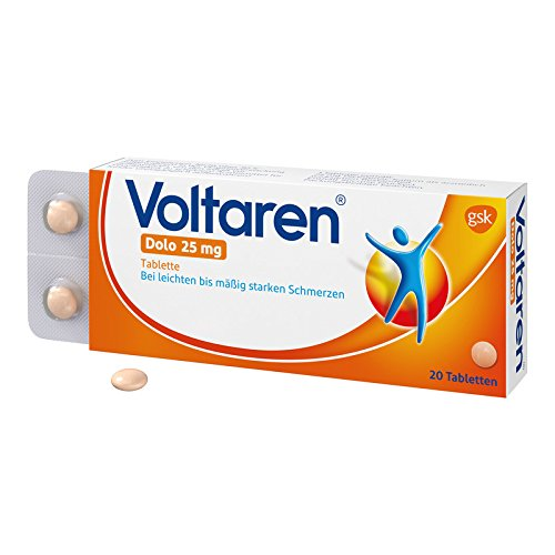 Voltaren Dolo 25 mg, 20 St. Tabletten