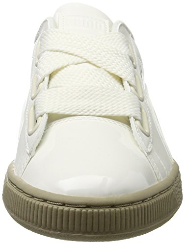 puma basket heart patent scarpe da ginnastica basse donna