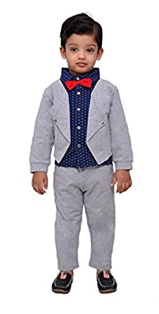 768a7f057 Kids Party wear Shirt with Bow