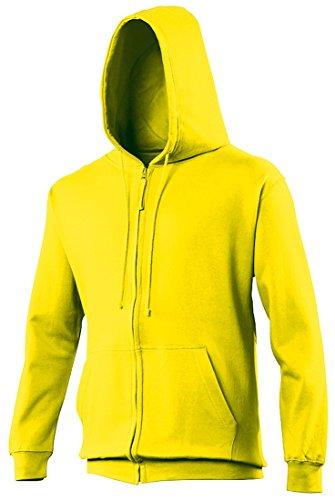 Just Hoods -  Felpa  - Maniche lunghe  - Uomo Giallo - Sun Yellow