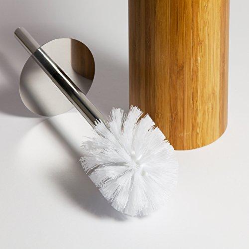 Bambus WC-Bürste und Bürstenhalter - 2