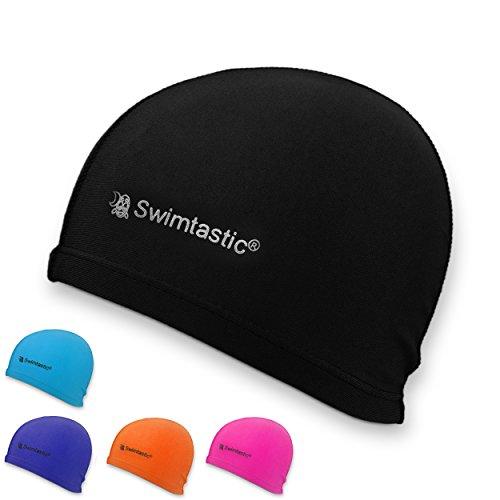 swimtastic-lycra-badekappe-5-trendige-farben-zur-auswahl-schwarz