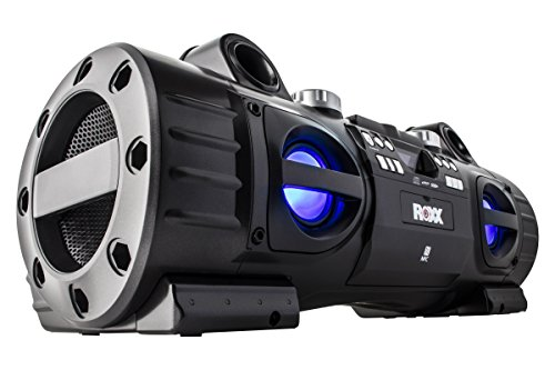 ROXX Ghettoblaster mit CD-Player, MP3, USB, SD, Bluetooth, NFC, AUX BB701