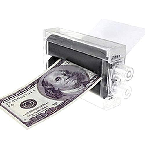 Legisdream macchina per stampare soldi accessorio scherzo di carnevale