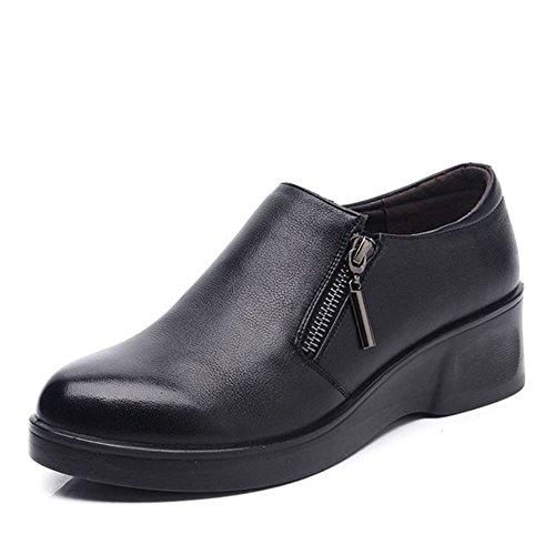 Chaussures grandes femmes d'âge moyen/Maman et chaussures de fond mou/ chaussures femme/Chaussures de femmes d'âge mûr/Les souliers A