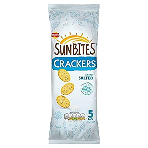 Sunbites Lightly Salted Crackers 24g x 5 per pack