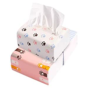 MINISO Cartoon Fragrance-Free Tissue Facial Tissue Soft Comfort Tissues Paper(3 Packs as A Selling Unit)