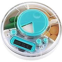 Mmyunx Tragbare Alarm-Pille-Speicher-Tasche Zeit-Erinnerung Vitamin Medizinische Medizin Organizer Box-Container-Siegel preisvergleich bei billige-tabletten.eu