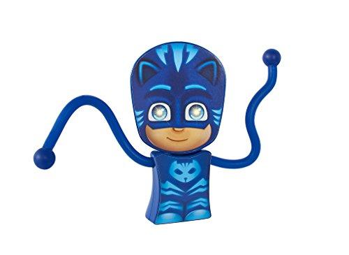 GoGlow PJ Masks Gatuno Linterna y Luz de Noche con Brazos Flexibles Azul