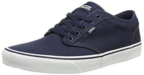 Vans Atwood Herren Sneakers, Blau ((Canvas)Nvy/Wht 4K1), 47 EU