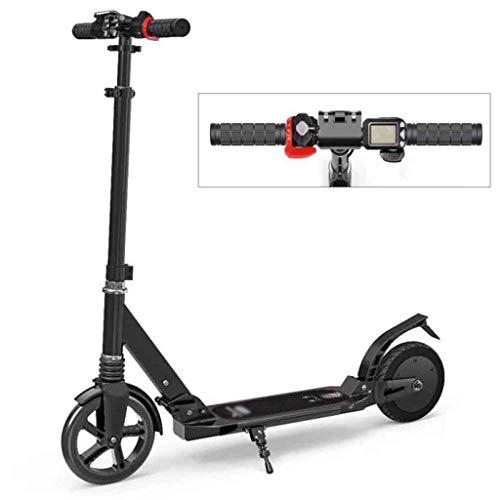 A&DW Faltbarer Elektroroller, LCD-Display, Höchstgeschwindigkeit 15 Km/H, Maximales Ladegewicht 100 Kg, Leichtes Trage-Design, Ultraleichtes Motorisiertes Fahrrad Für Erwachsene Kinder