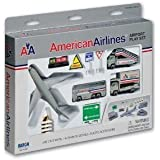 American Airlines Die-Cast Metal Airport Play Set - Perfect Birthday Gift Idea For Kids of All Ages Jouets, Jeux, Enfant, Peu, Nourrisson