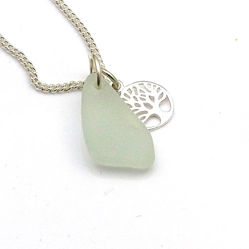 sea-glass-necklace-sterling-silver-tree-of-life-charm-necklace