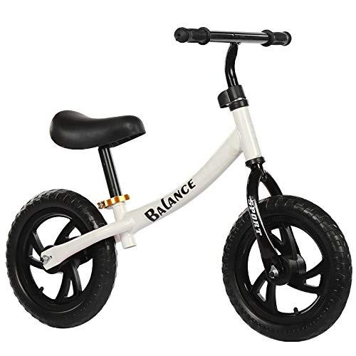 Bicicleta Sin Pedales Para Niños, Equilibrio Bici Sin Pedales Niño Juguetes Bebes Asiento Ajustable...