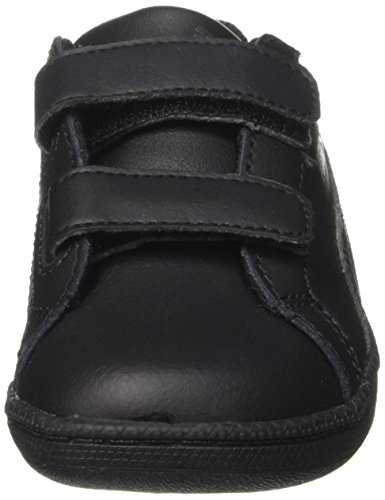 Puma Smash Fun L V, Baskets Basses Mixte Enfant Noir (Black/Black)