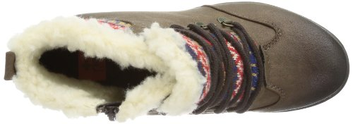 Rieker 91523, Stivali donna marrone (Braun (schoko/multicolor 25))