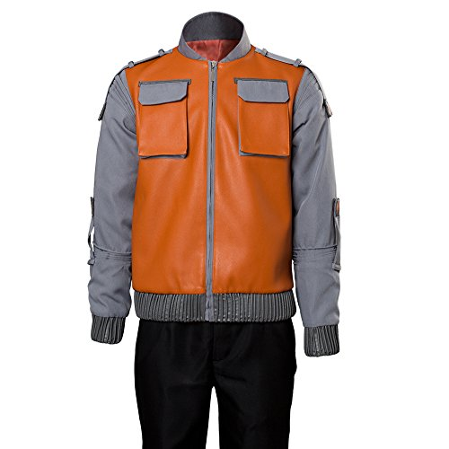 (Back to the Future Marty McFly Jr.Jacket Cosplay Kostüm Herren XXL)