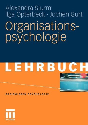 Organisationspsychologie (Basiswissen Psychologie)