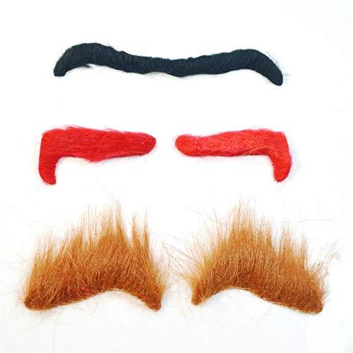Redyiger Nützliche Gegenstände Halloween Augenbraue Party Lieferanten Maskerade Make-up Zubehör Cosplay
