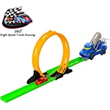 Vivir High Speed Powerful 360 Degree Spin Loop Track Racer Car Set ( Toys For 3 Year Old Boy And Girl )