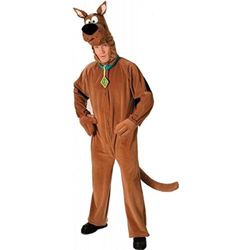 Scooby Doo (TM) Deluxe Kostüm (Erwachsenen Größe)