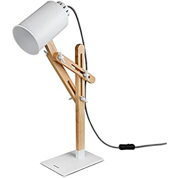 Tomons Wood Swing Arm Desk Lamp Designer Table Lamp