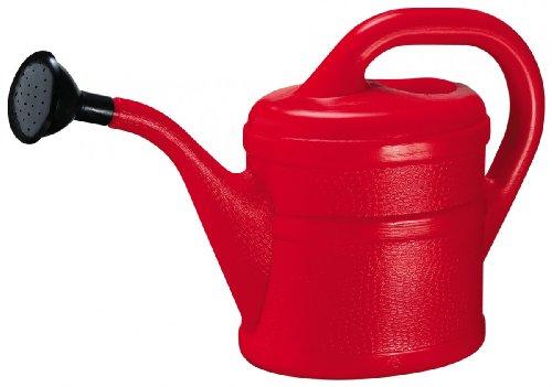 Gießkanne Inhalt 2 Liter aus Kunststoff, rot