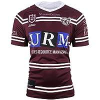 DDsports Manly-Warringah Sea Eagles, Jersey De Rugby, Nueva Tela Bordada, Swag Sportswear (Marrón, 3XL)