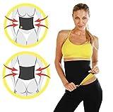 Ducomi® Bauchbandage, Neoprengürtel mit Sauna-Effekt, hypoallergen, Nero-Giallo, XXL